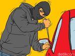 Bukan Dirusak, Mobil Kabiro Hukum KPK Disebut Polisi Ingin Dicuri
