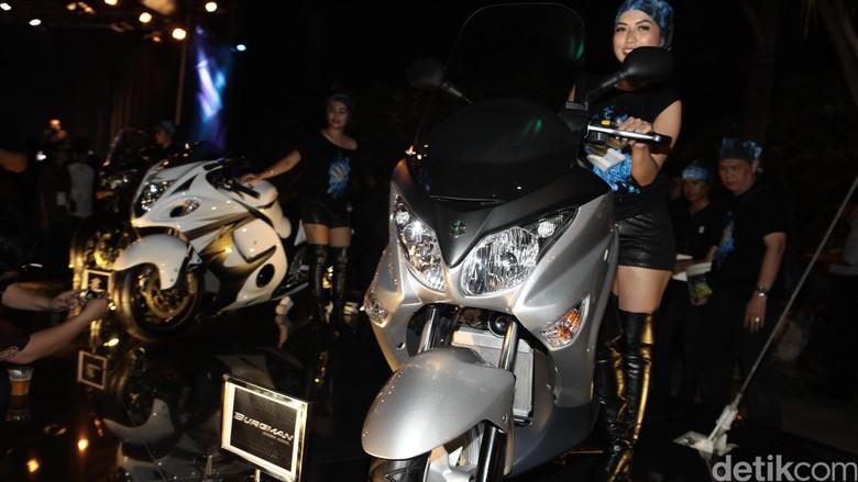 Selain Sport 250 cc, Suzuki Juga Bakal Lahirkan Skutik 250 cc