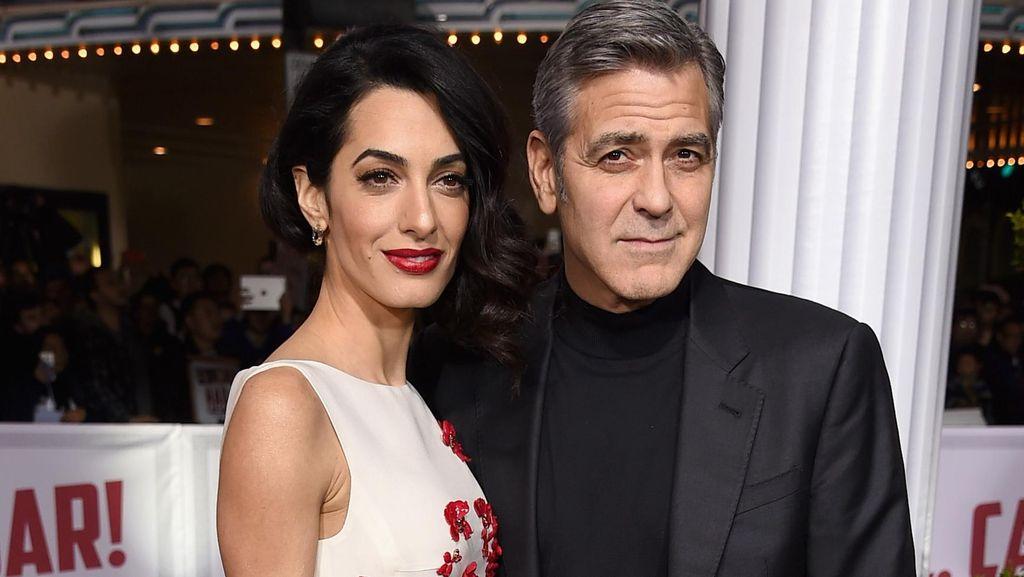 Istri George Clooney Jadi Pengacara Korban Perbudakan Seks ISIS
