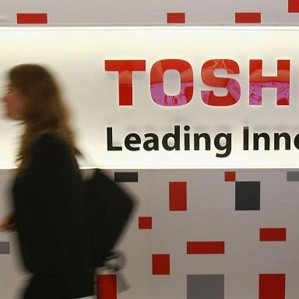Apple dan Google Siap Caplok Bisnis Toshiba