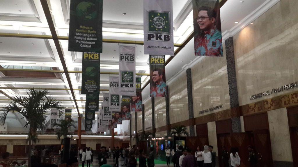 Kader PKB Mulai Berdatangan ke Lokasi Mukernas di JCC