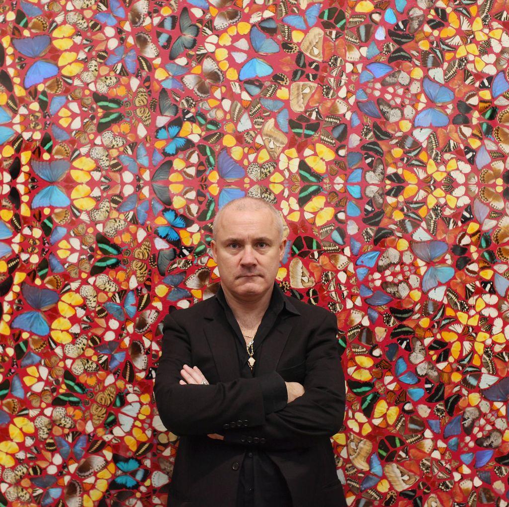 Karya Palsu Damien Hirst Dijual di eBay dengan Harga Murah