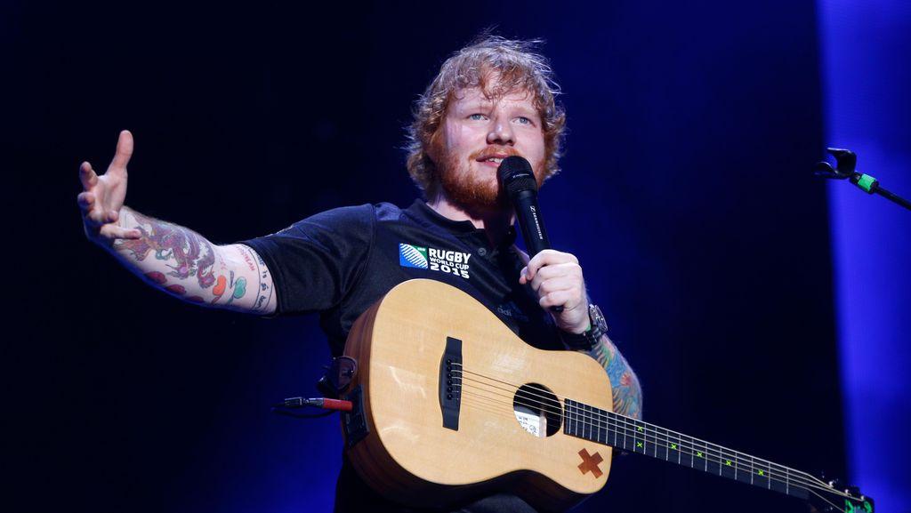 Ed Sheeran Beberkan Alasan Hapus Akun Twitter di Instagram