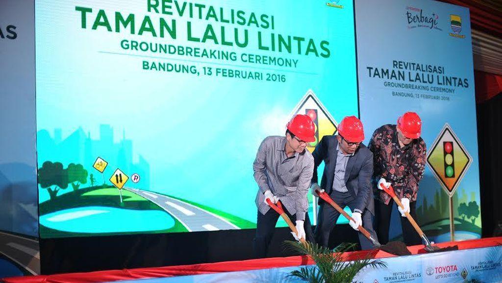 Revitalisasi Taman Lalu Lintas Bandung, dari Gunung Sampai Tempat Selfie