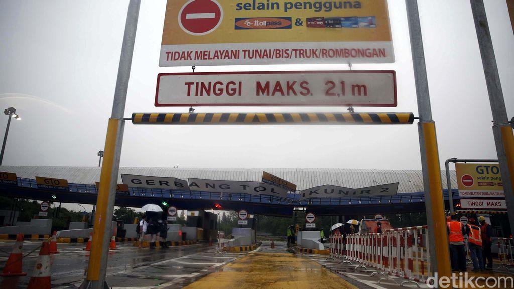 Jasa Marga Sedot Air yang Banjiri GT Cikunir dan Jatibening