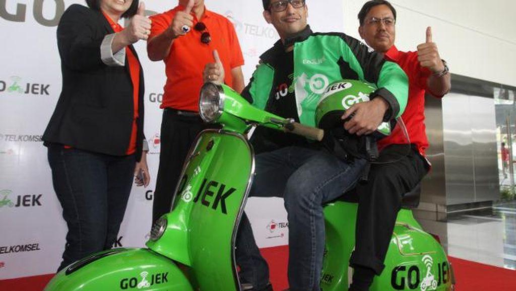 Kolaborasi Go-Jek & Telkomsel bakal Hadirkan Go-Pulsa