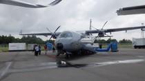 Pesawat CN235-220 TNI AL Ikut Dipamerkan di Singapore Airshow