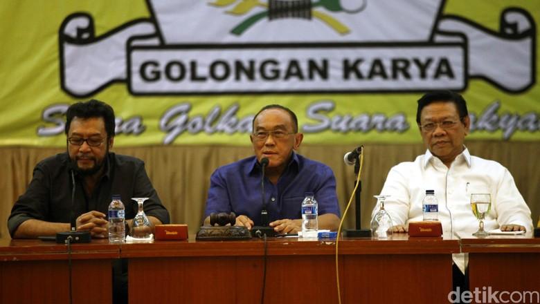 Nurdin Halid Diusulkan Jadi Ketua SC Munas Golkar, Zainudin Amali OC