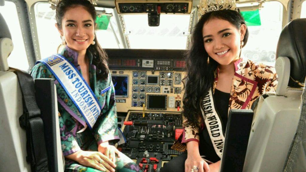 Putri Pariwisata Meriahkan Booth Indonesia di Singapore Airshow