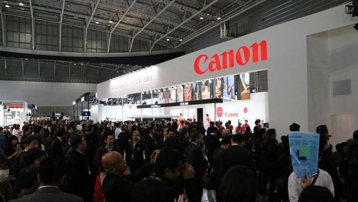 Pameran industri fotografi paling bergengsi di Asia CP+ Camera & Photo Imaging Show 2016 resmi dibuka hari ini, Kamis (25/2/2016). Foto: detikINET/Ari Saputra