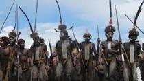 Wamena yang Dikunjungi Jokowi, Punya Tari Perang!