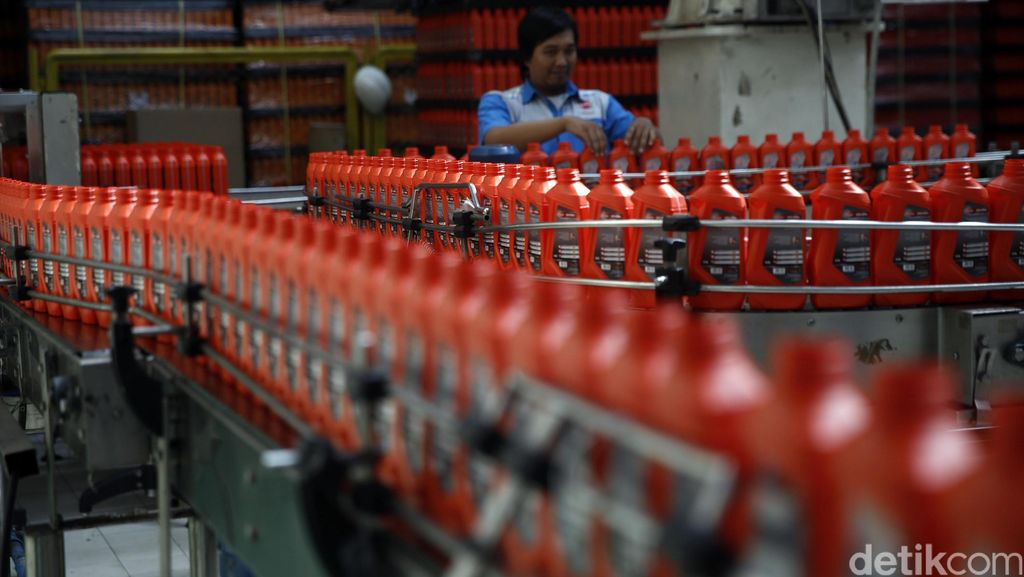 Pelumas Federal Siapkan Pabrik Baru Pakai Sistem Robotik