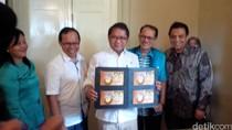PT Pos Indonesia Luncurkan Prangko Seri Gerhana Matahari Total