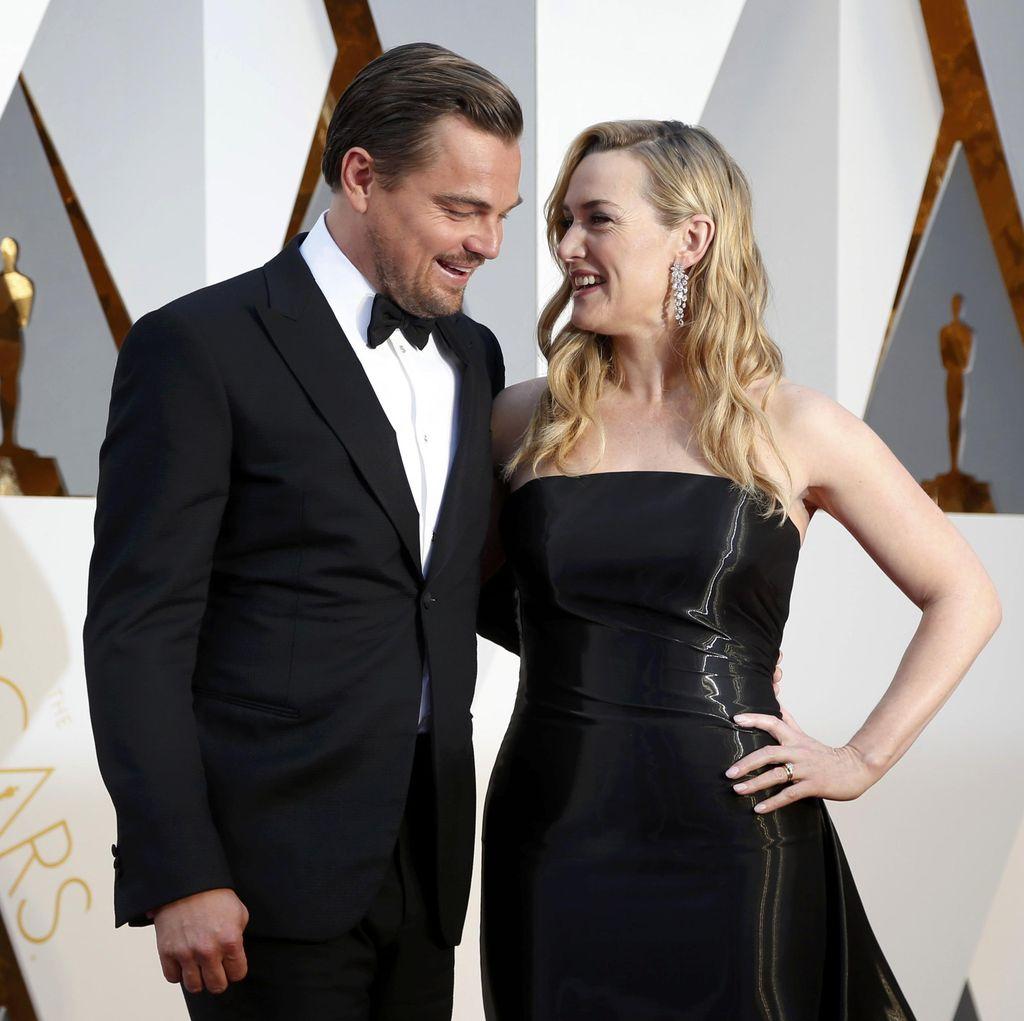 Leonardo DiCaprio dan Kate Winslet Liburan Bareng di Prancis