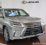 Lexus Siapkan SUV dan Sedan Baru