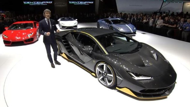 Mobil Keren di Premier Transformers, Ada Lamborghini Centenario