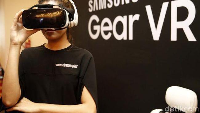 Samsung Garap Versi Canggih Gear VR