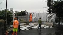 Bikin Blind Spot, Papan Proyek Monorel di U-Turn Rasuna Said Dibongkar