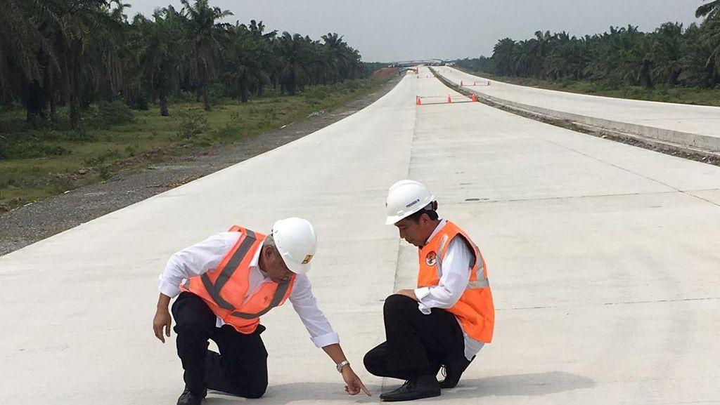 Empat Ruas Tol Trans Sumatera Siap Digunakan Mudik Lebaran