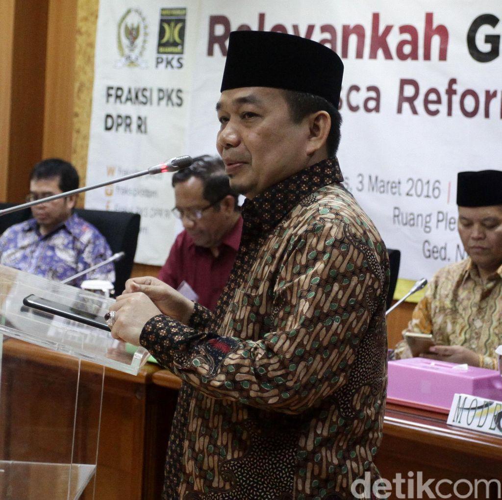 Kritik Fahri, F-PKS: Putuskan Saja Sendiri, Tak Usah Pakai Rapat!