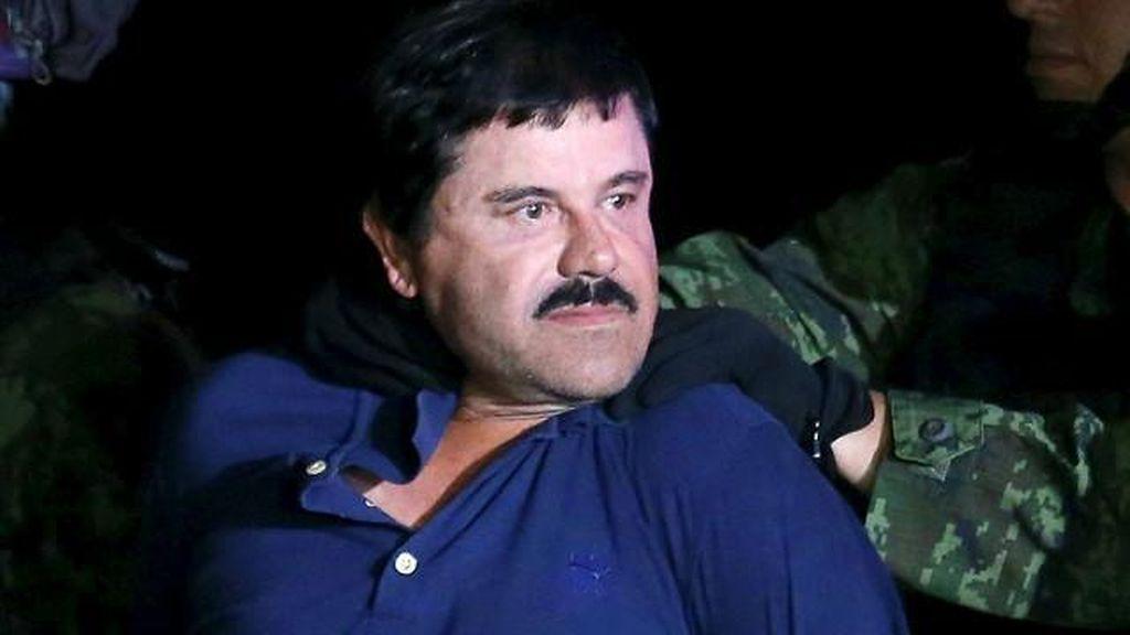 Gembong Narkoba Meksiko El Chapo Ingin Cepat Diekstradisi ke AS