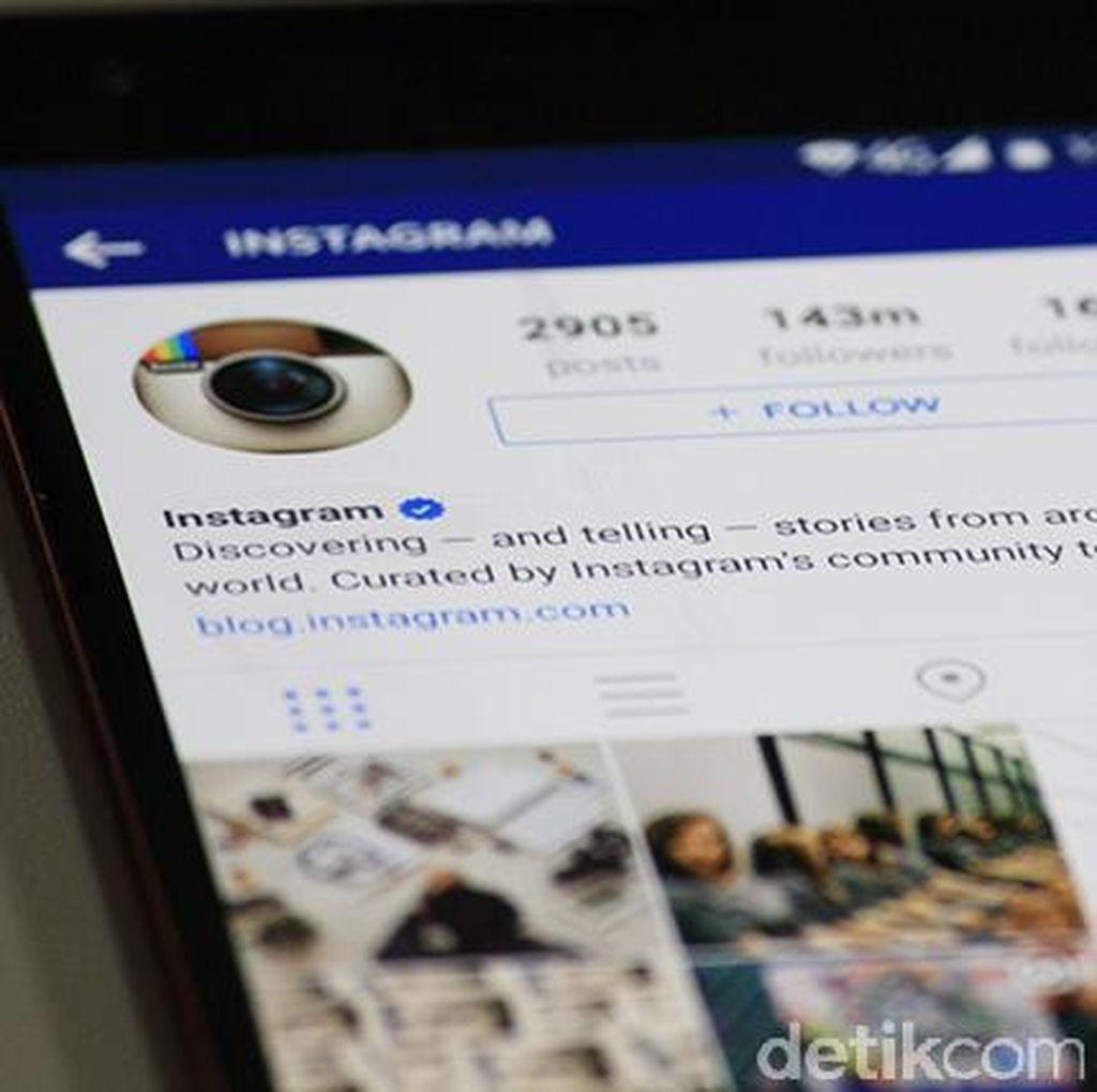 Instagram Bersih-bersih Akun Palsu