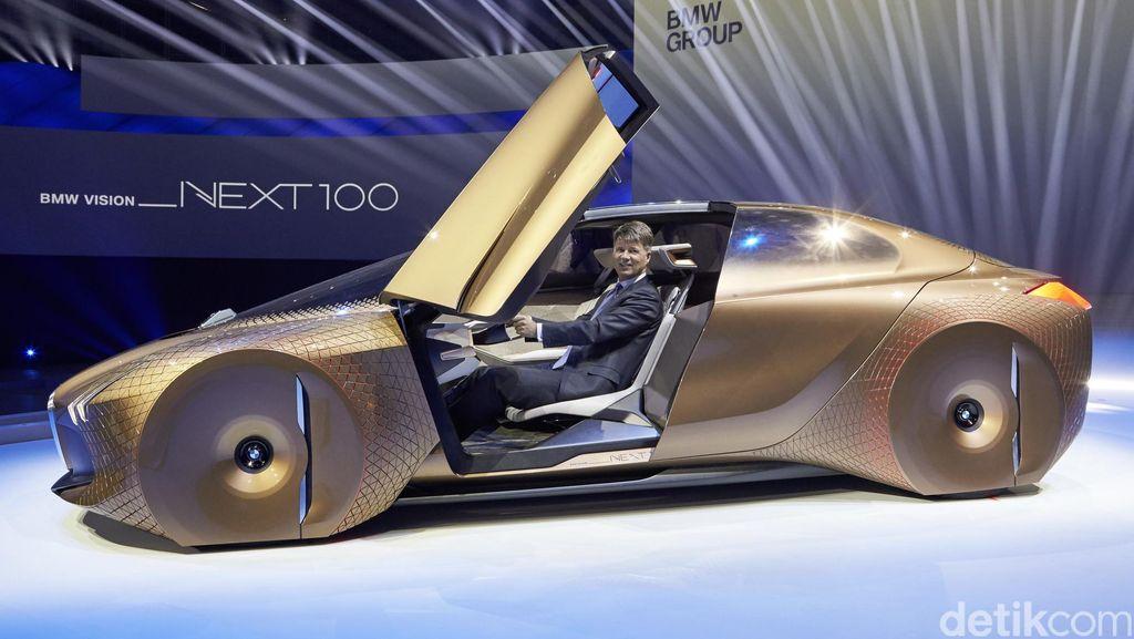 Tahun 2021 Mobil Tanpa Sopir BMW Lahir