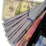 Dolar AS Pagi Ini Rp 13.318