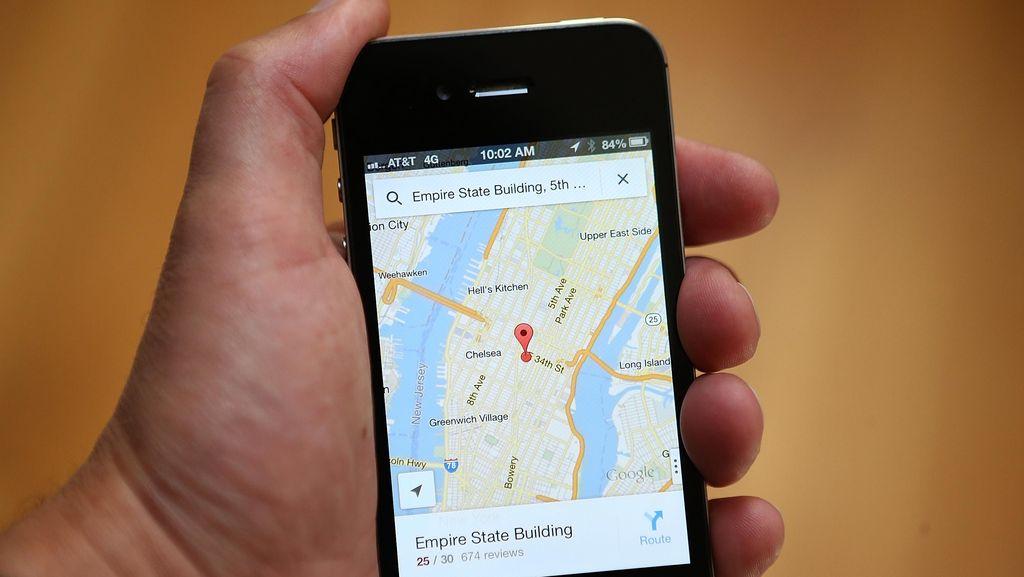 Kisah Menarik Google Maps, Aplikasi Favorit Para Pemudik