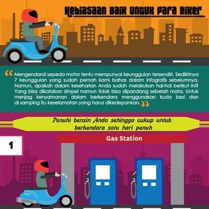 7 Kebiasaan Baik yang Seharusnya Dilakukan Bikers