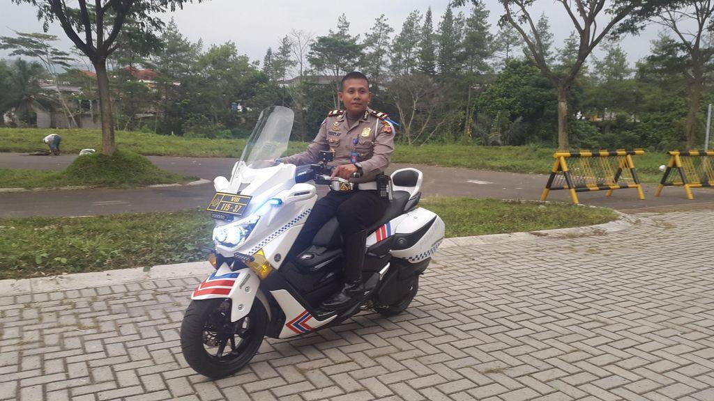 Motor Polisi Ini Jadi Primadona di Jambore Nasional NMax