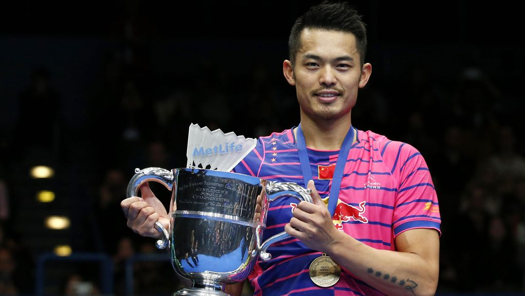 Lin Dan Juara All England 2016