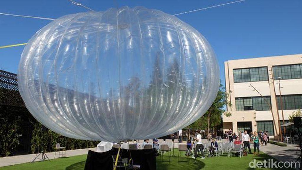 Gonjang-ganjing Balon Internet Google yang Tak Juga Terbang