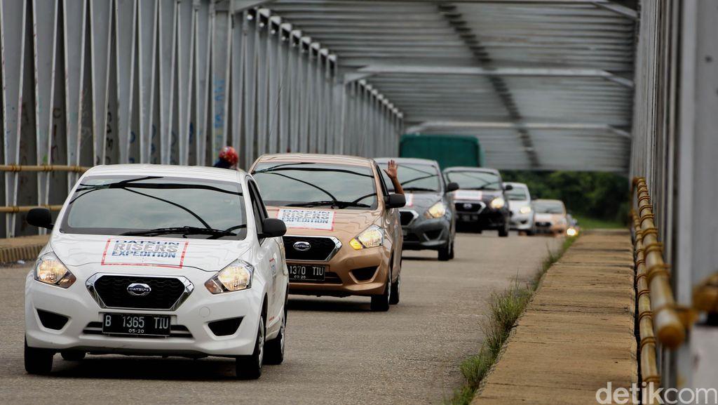 Pesona Alam Minang Pikat Para Datsun Risers