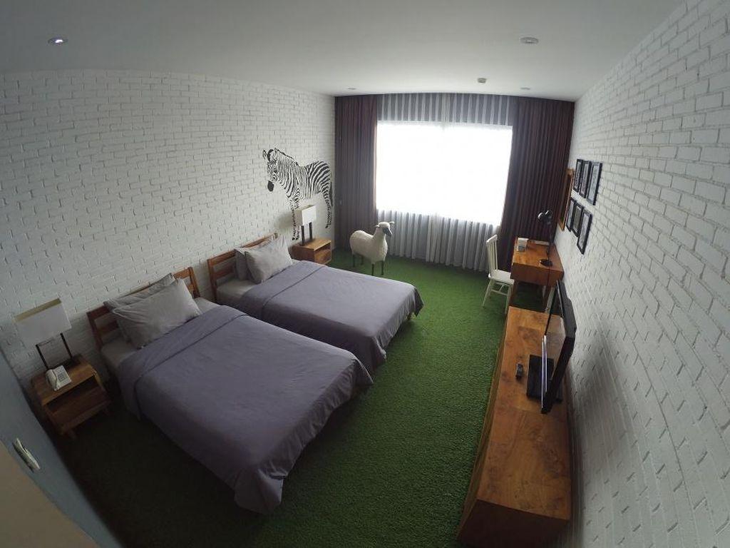 Hotel Paling Fotogenik di Bandung, Tiap Kamar Punya Tema Beda