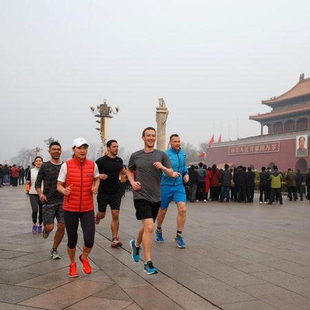 Rayuan Maut Zuckerberg Tak Mampu Tembus Tembok China