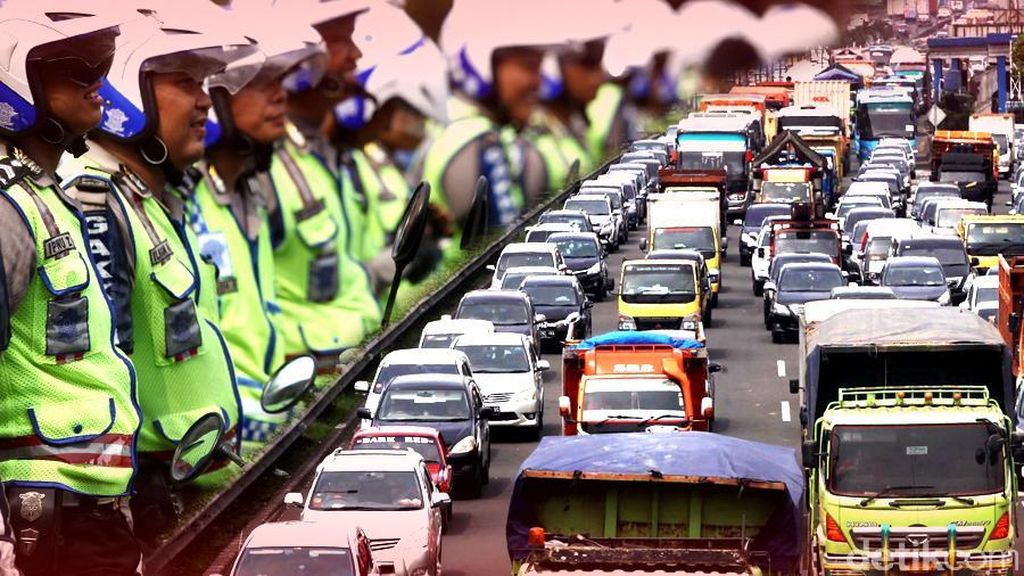 Libur Panjang, Tercatat 343.354 Kendaraan Ke Luar Jakarta via Tol