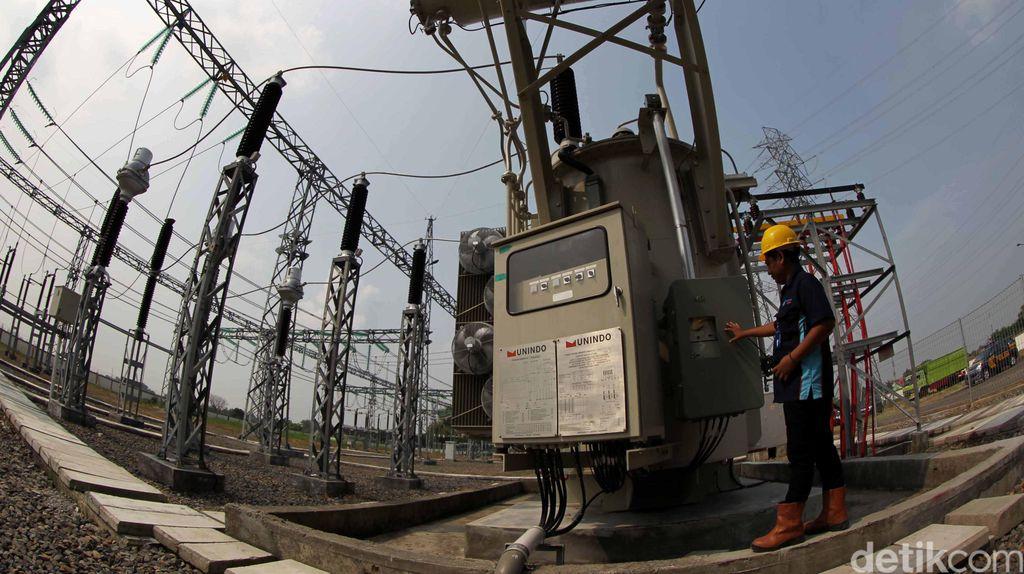Tiga Gardu Induk Diresmikan di Jawa Timur