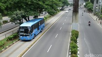 Pembatasan Motor di Jl Rasuna Said-Sudirman Diuji Coba 12 September