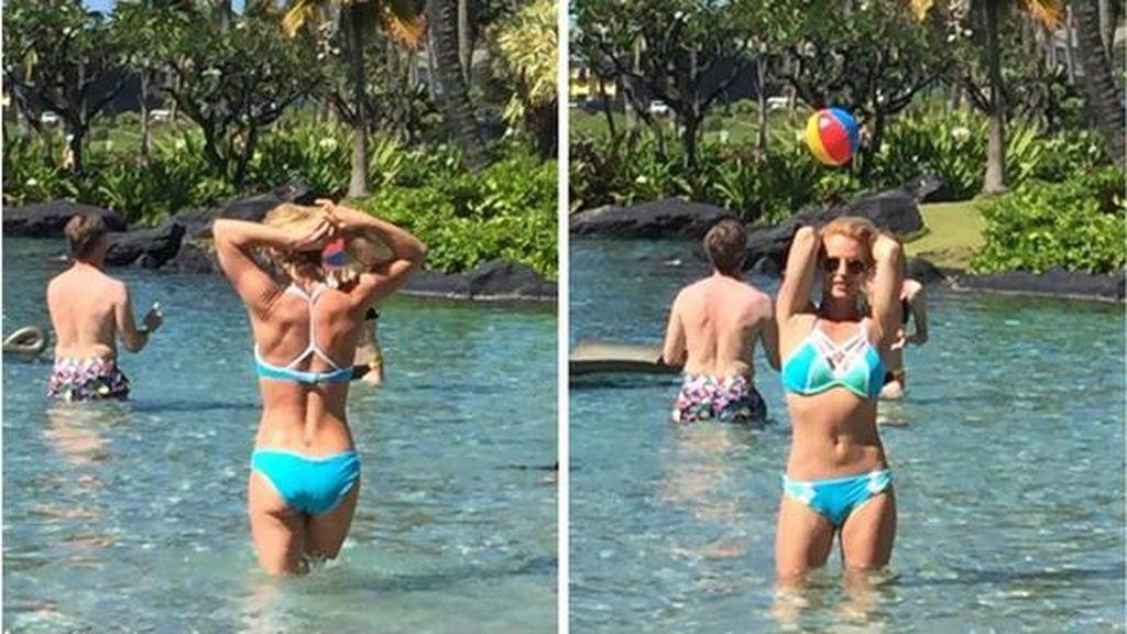 Setelah Drama Foto Editan, Britney Spears Kembali Pamer Bodi Seksi