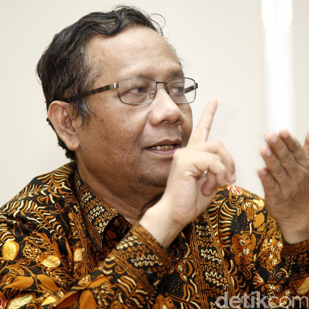 Mahfud MD: KPK Tak Usah Gubris Hak Angket DPR