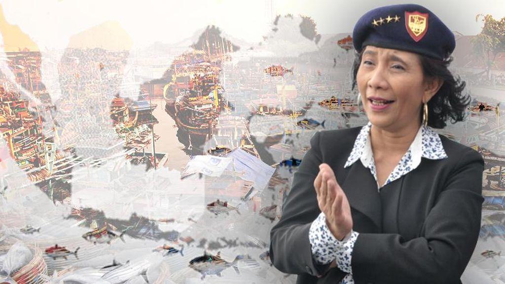 Susi Akan Pimpin Prosesi Penenggelaman 23 Kapal Illegal Fishing