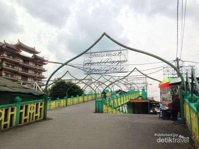 Titi Gantung, Jembatan Abad ke-18 Paling Bersejarah di Medan