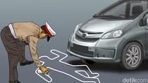 Hindari Pemeriksaan, Pengemudi Mobil Ini Tabrak Petugas Kualanamu
