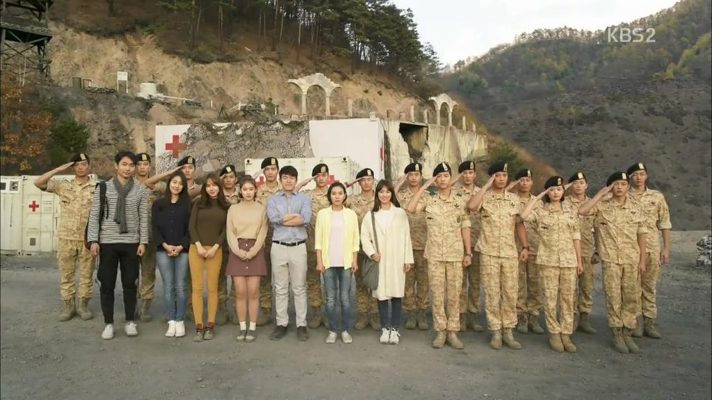 Descendants of the Sun Episode 12: Tembakan, Air Mata dan Perpisahan dengan Uruk