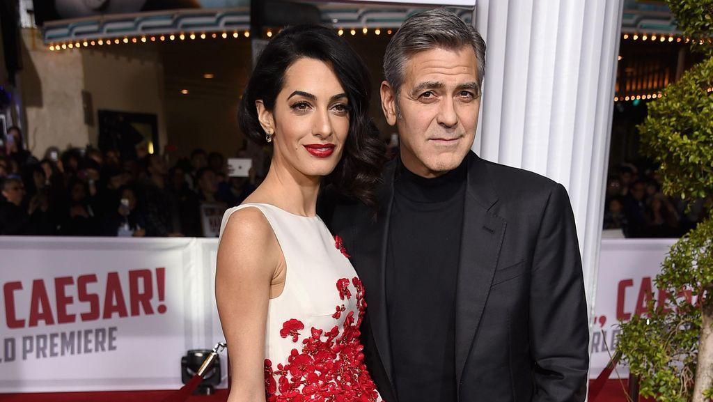 Ini Aturan George Clooney dan Amal Alamuddin Agar Pernikahan Tetap Langgeng