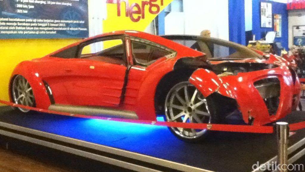 Ferrari Listrik Dahlan Iskan Beristirahat di Museum Angkut
