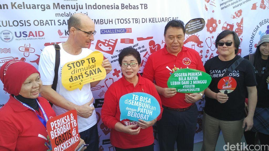 Targetkan Indonesia Eliminasi TB Tahun 2035, Ini Langkah Kemenkes