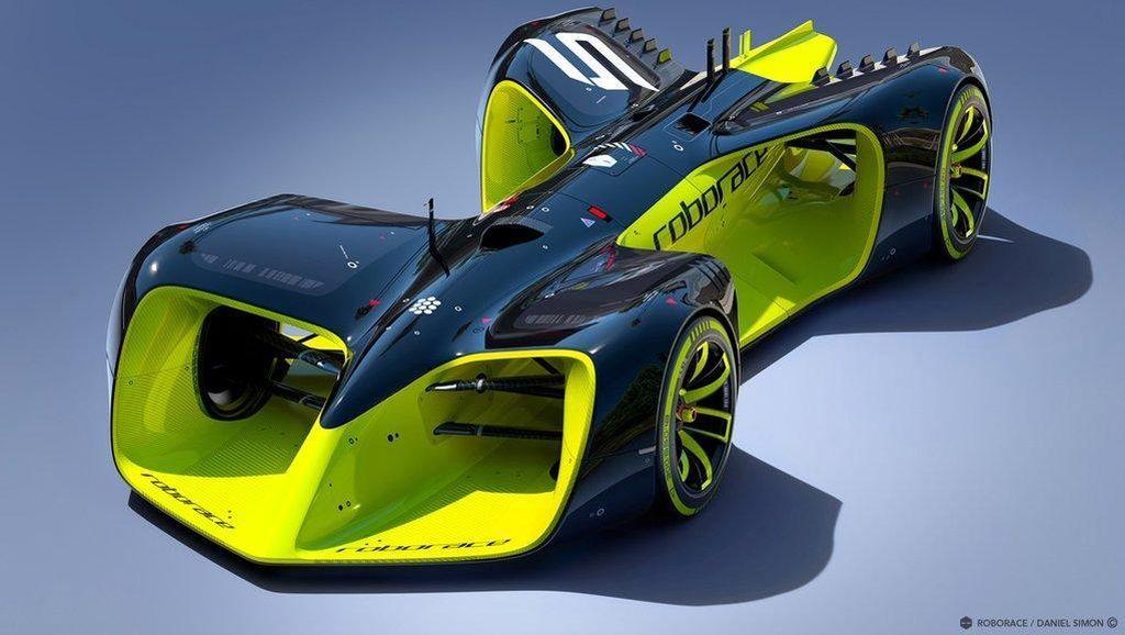 Ini Dia Konsep Mobil Balap Otonom Pertama di Dunia