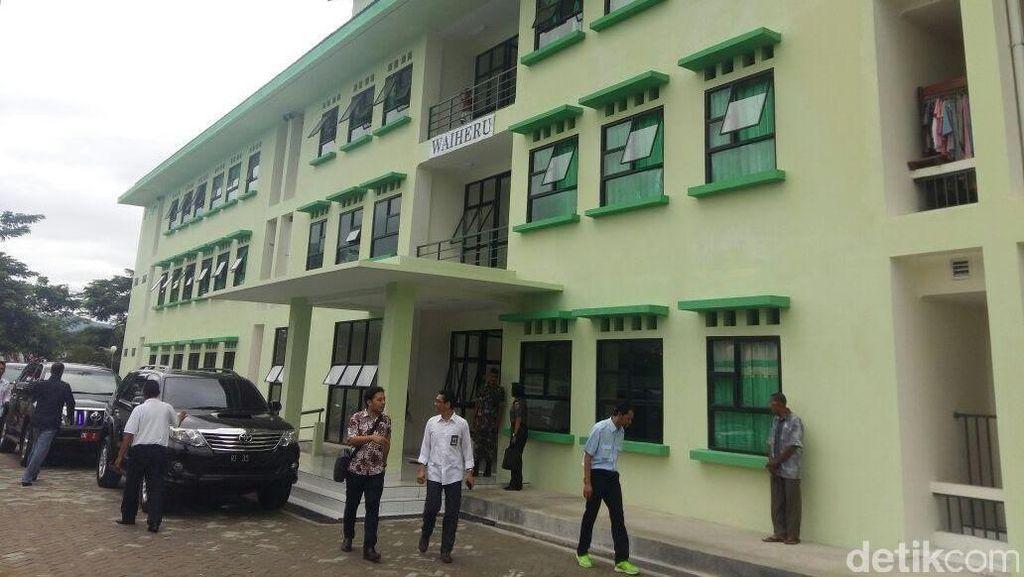 Rusun Khusus TNI di Maluku Ini Dilengkapi Kolam Renang